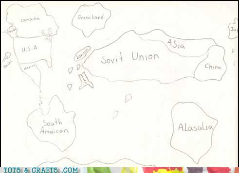 Funny Kids Drawings - More Accurate Than Many Medieval Maps