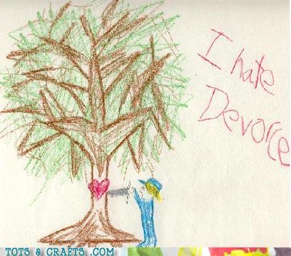 Funny Kids Drawings - Don't Take It Out On The Giving Tree