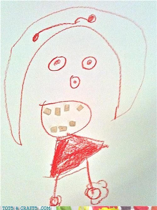 Funny Kids Drawings - Someone Needs A Trip To The Dentist