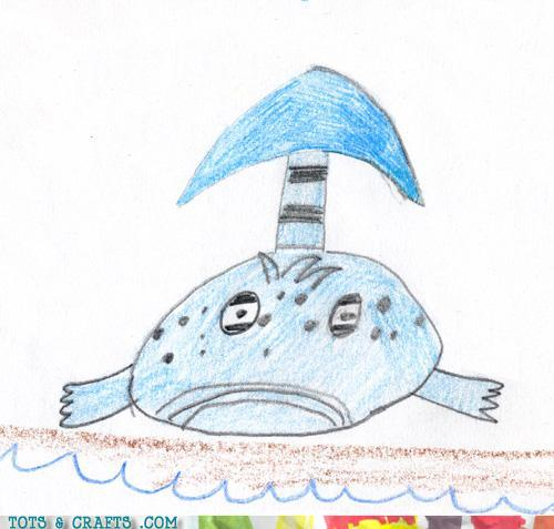Funny Kids Drawings - Great A'tuin? Is That You?