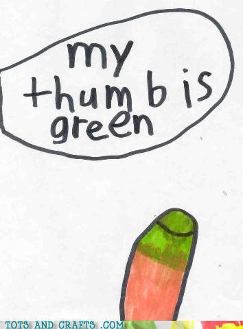 Funny Kids Drawings - Confusing Environmentalism and Gangrene