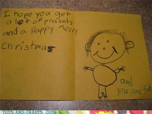 Funny Kids Drawings - And You Are Fat